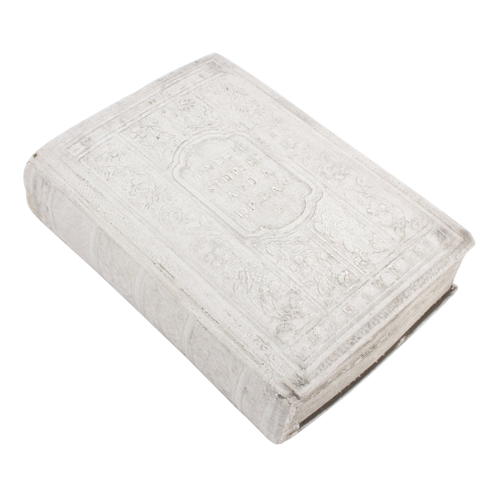 Cast Stone Book - Medium Twelve Stories & A Dream Book