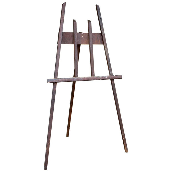 Mid-Century Artist's Wood Easel Found in France