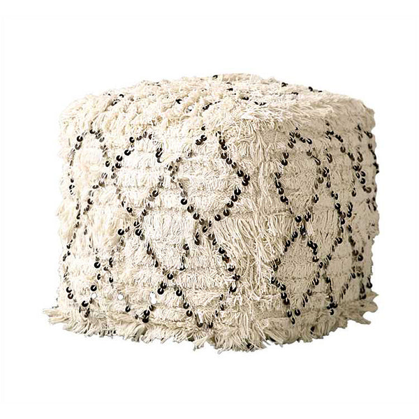 Moroccan Wedding Quilt Pouf