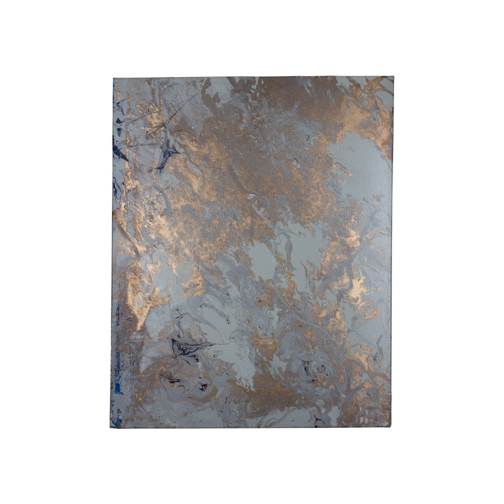 Abstract Metallic Painting - Paul Tankersley