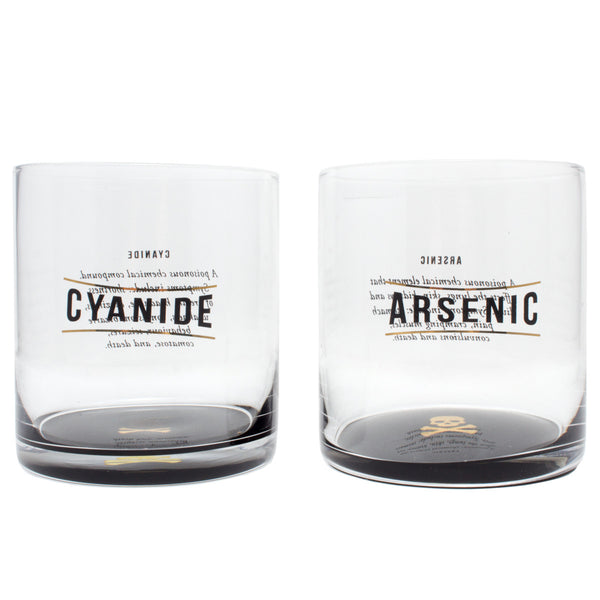 Name Your Poison Tumbler Set with Silicone Sphere Ice Molds (Set of Two)
