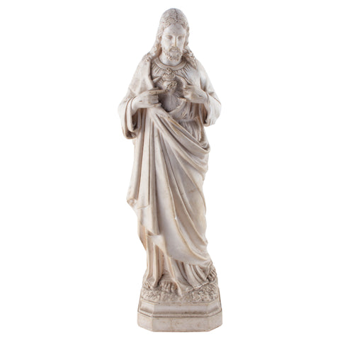 1920s French Depose Statue of Jesus Christ