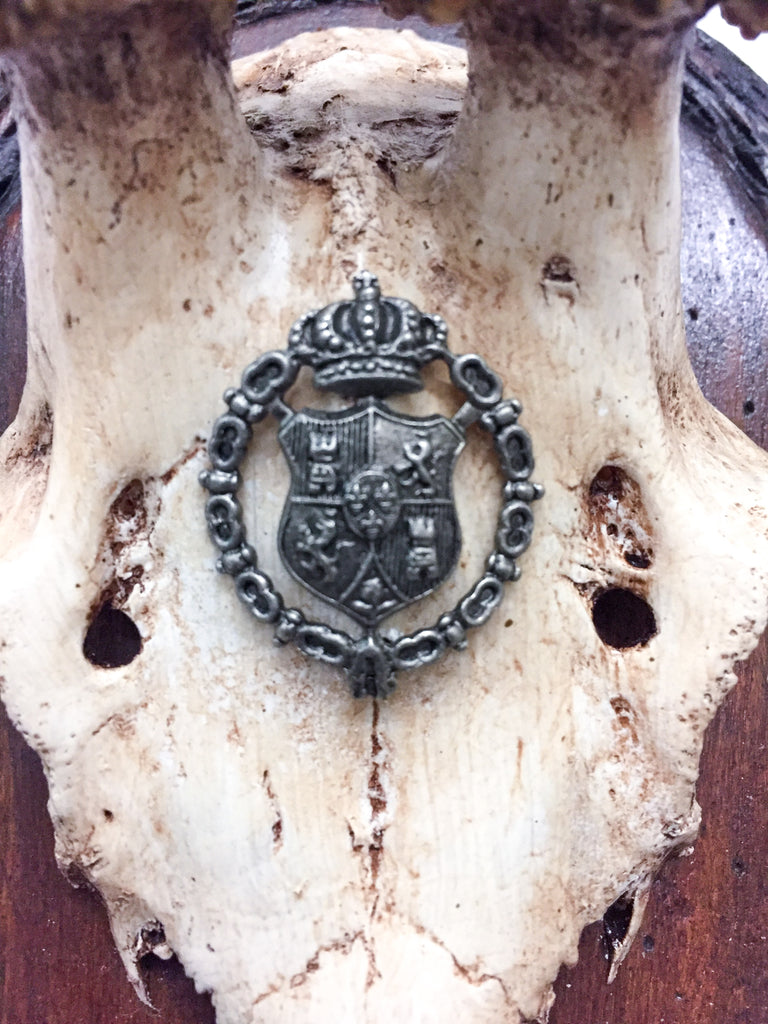 Early 19th Century Habsburg Roe Trophies on Hand Carved Black Forest Plaques