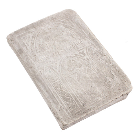 Cast Stone Book - Small New Testament Book