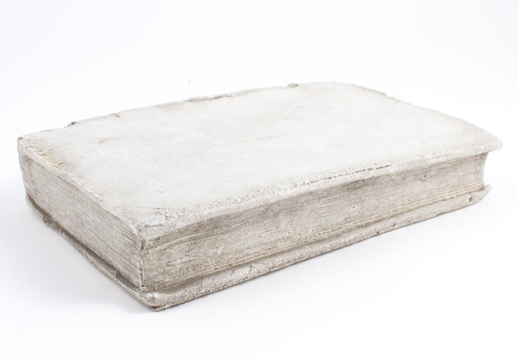 Cast Stone Book - Small Distressed Book