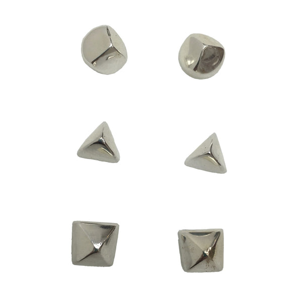 Sasa Silver Stud Earrings - Three Styles Available