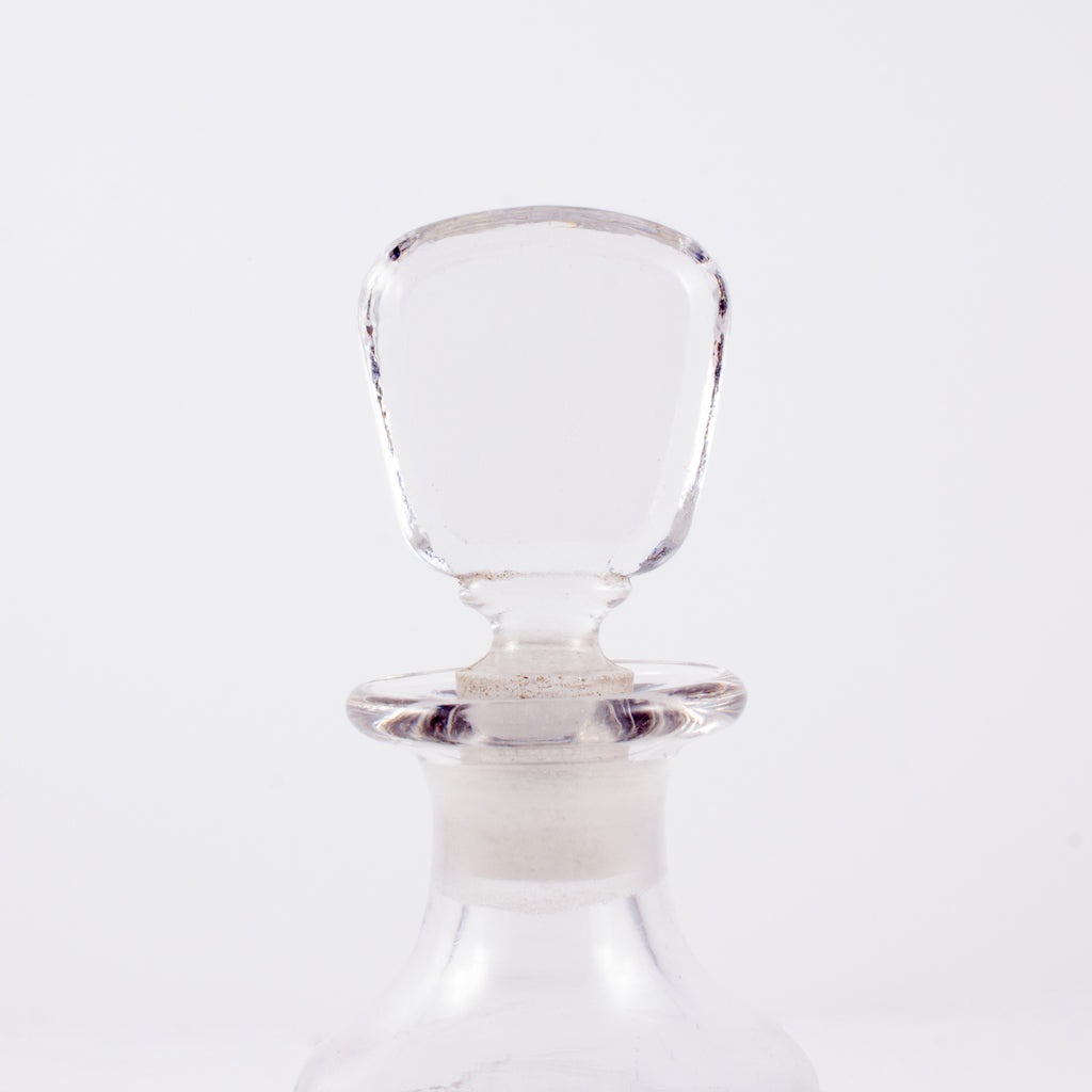Small Vintage French Crystal Decanter