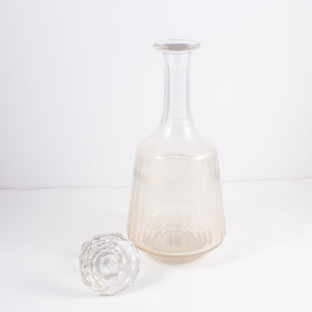 Vintage French Crystal Decanter