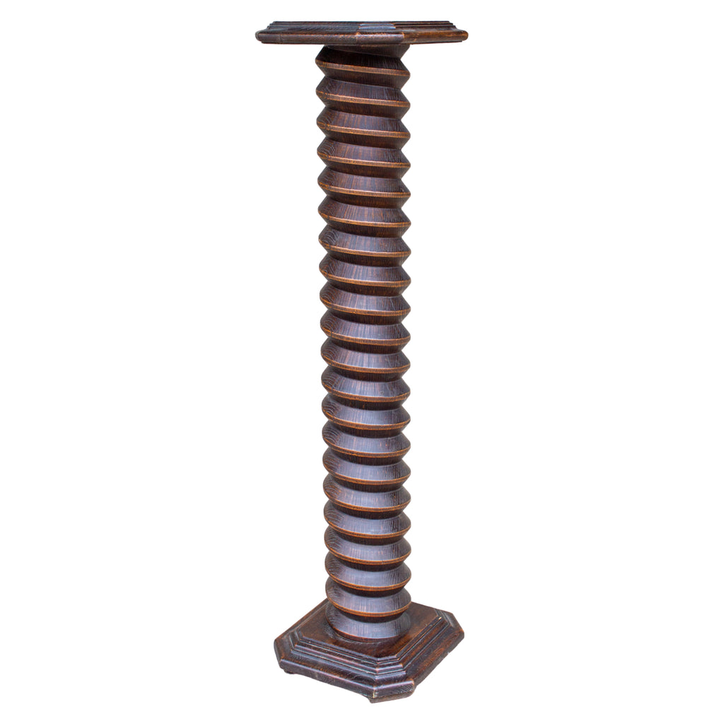 19th Century French Wood Wine Press Screw, ca. 1830