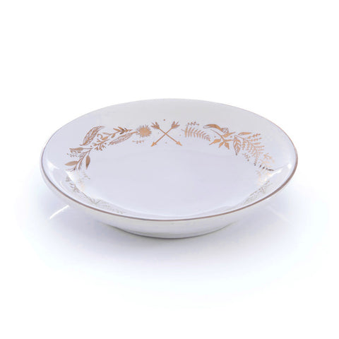 Round Wreath Trinket Dish
