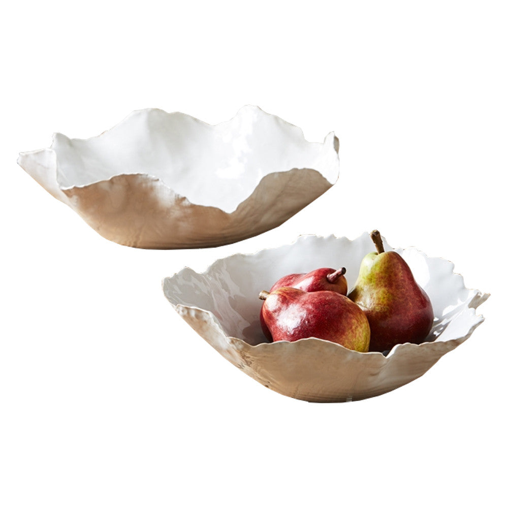 Free Form Ceramic Bowls (Two Sizes)