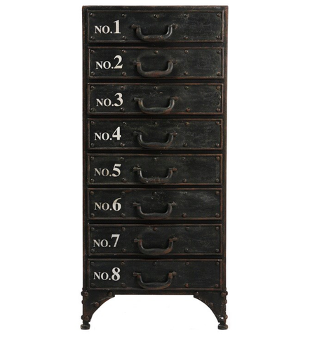 Andre Iron Cabinet
