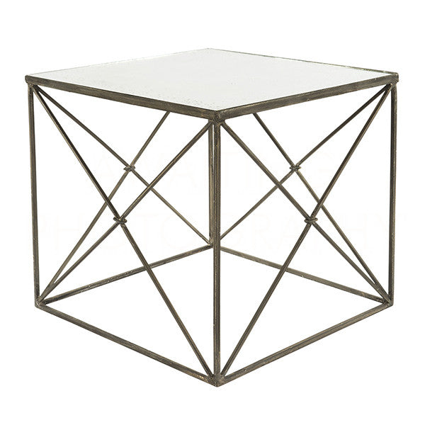 Furano Zinc Side Table