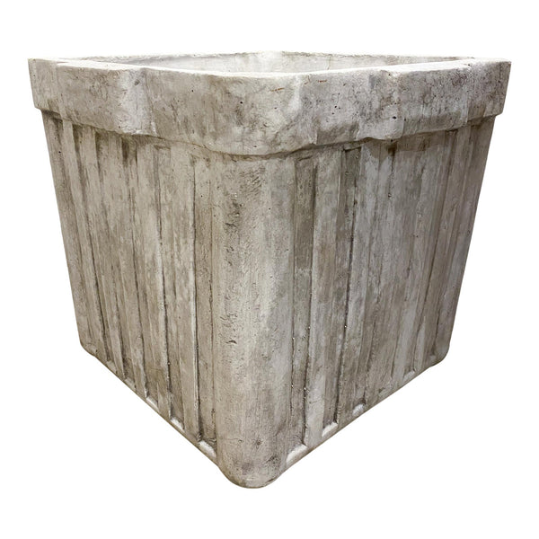 Handmade Willy Guhl Inspired Cast Stone Planter