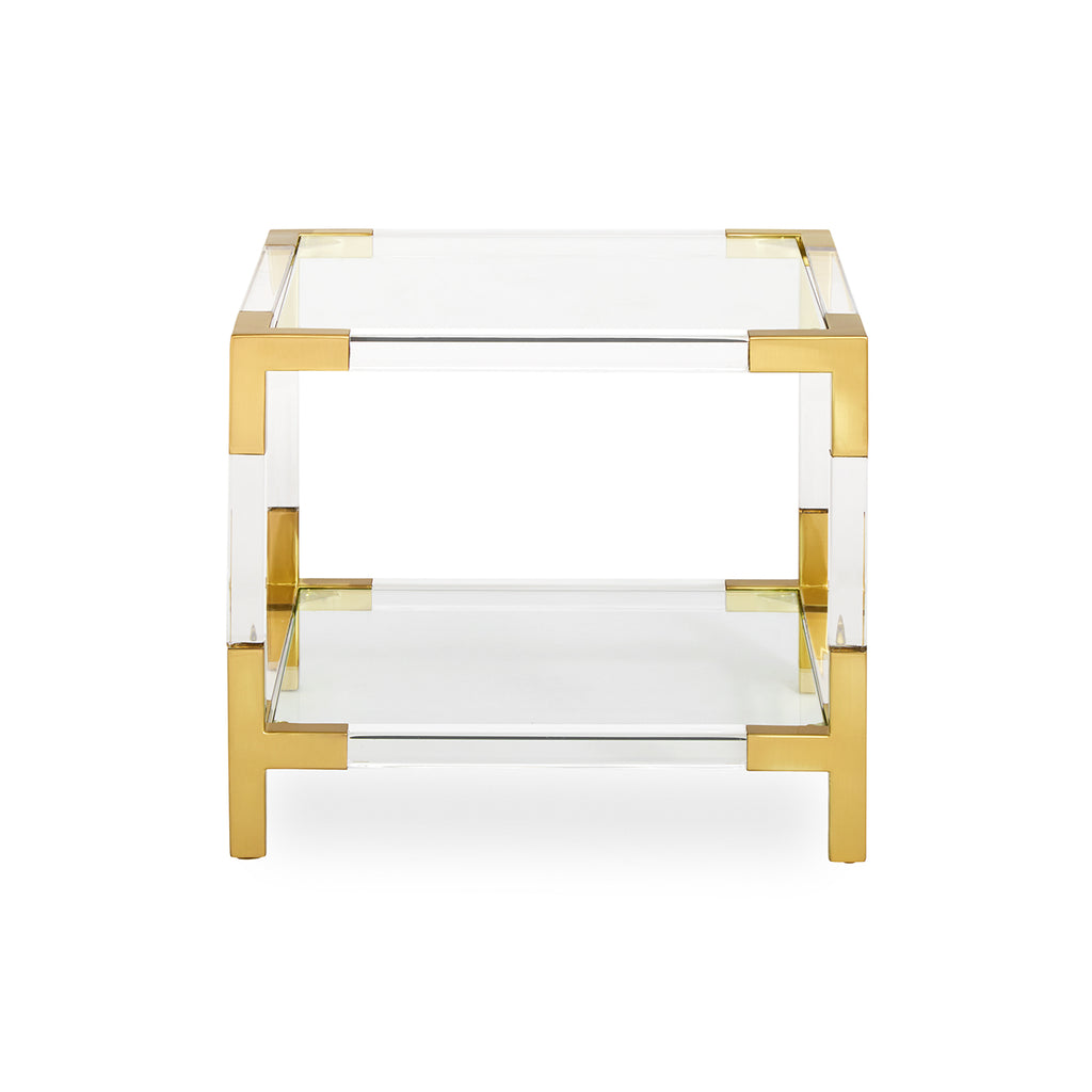 Jacques Two-Tier Accent Table by Jonathan Adler