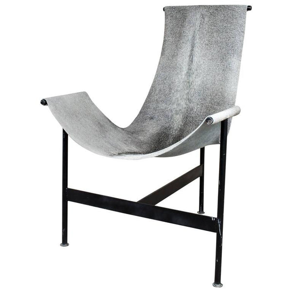 Hide Sling Chair - Gray