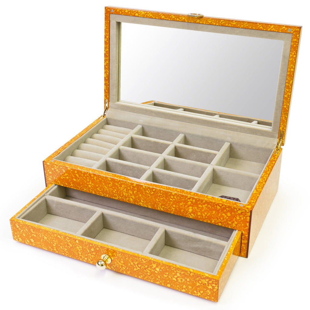 Toulouse Orange Jewelry Box