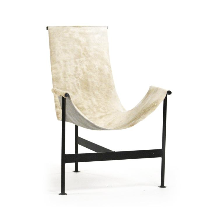 Hide Sling Chair - Cream
