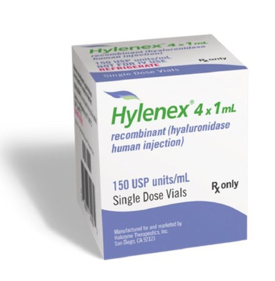 HYLENEX, Single Dose Vial 150U/1ML 1ML (4/CT)