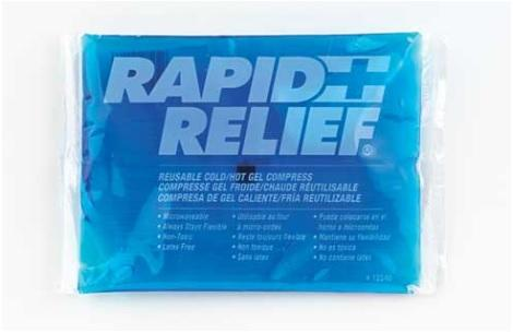 Instant HOT / Cold Packs by Rapid Aid Ltd - 24 EA / CS
