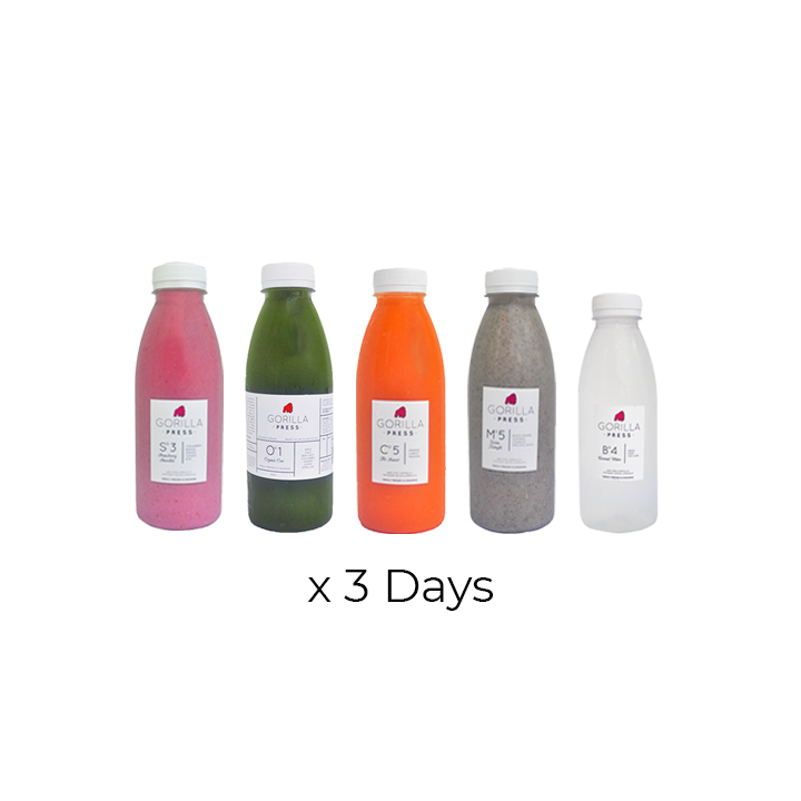 3-Day Partial Cleanse (15 BOTTLES)