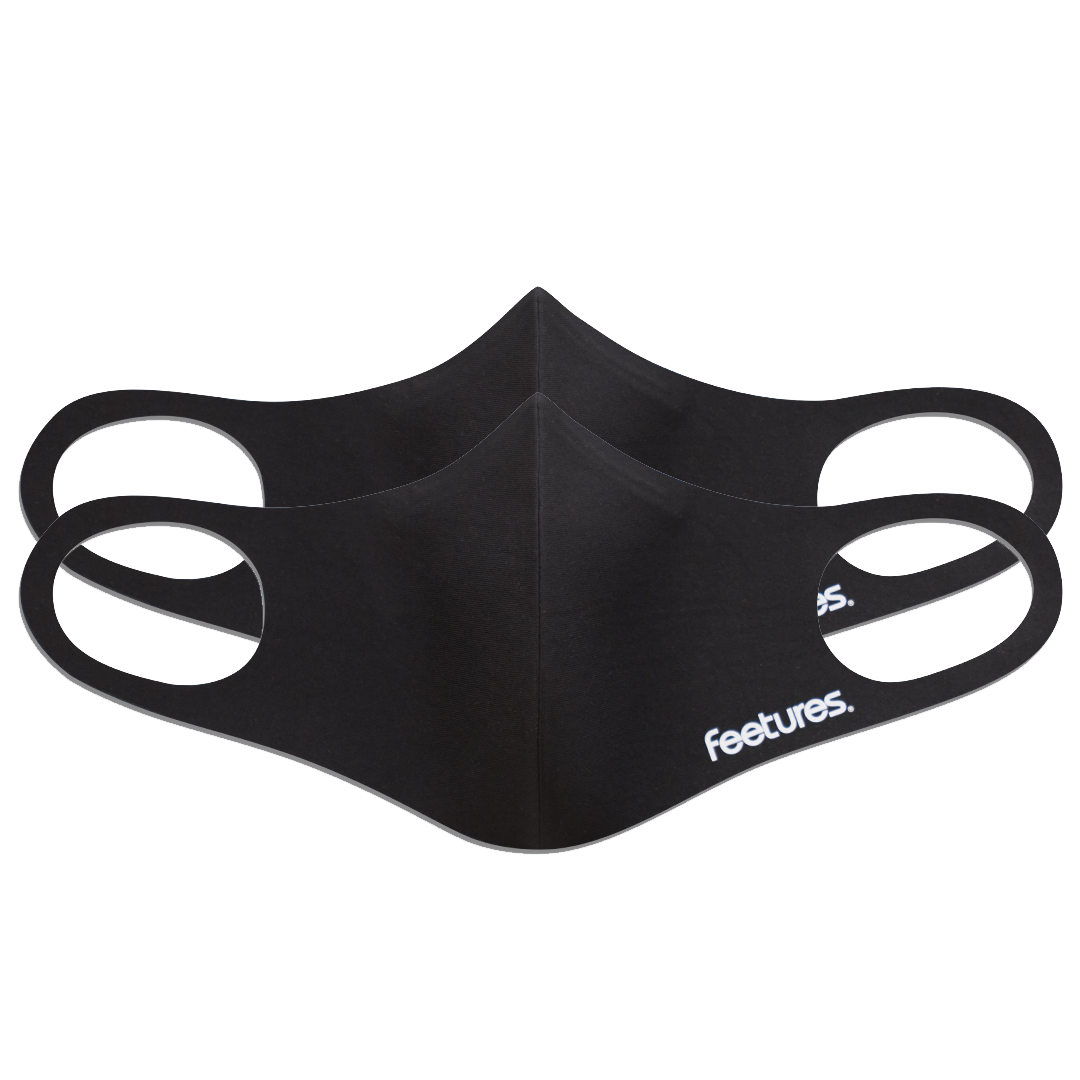 Feetures Face Mask - 2x Pack