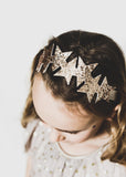 Pearlescent star headband