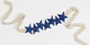 Navy star headband