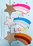 Shooting star wall decor