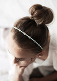 Star halo silk headband