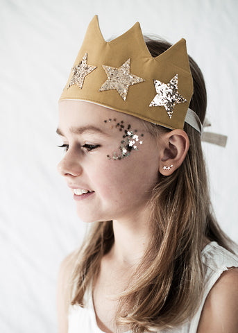 Antique star crown