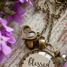 Blessed Gigi necklace (charms and beads included)