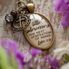 Raising Little Intercessors, the next generation of Annas - Luke 2:37 (charms and beads included)