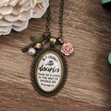 Raising Little Disciples Proverbs 22:6 Necklace