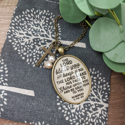 The Lord Bless You and Keep You Necklace