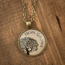 """Hope Grows"" necklace"