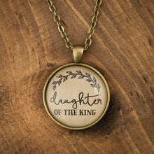 """daughter of the King"" necklace"