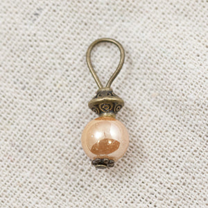 Golden Peach bead