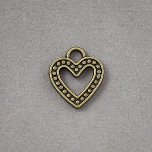 Heart Charm - decorative