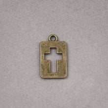 Cutout Cross Charm