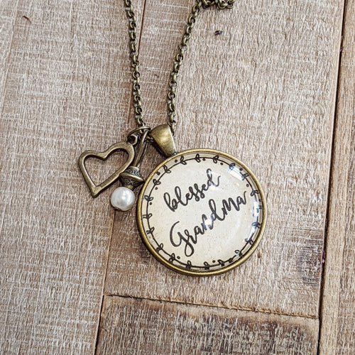 Blessed Grandma Necklace