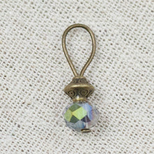 Iridescent Clear Bead