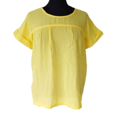 Mifune bluse · Yellow