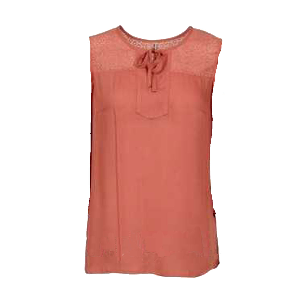 Nolta top · Burnt Orange