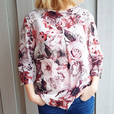 Eloise bluse · Rosy Pink