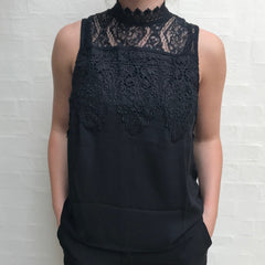 Remus top · Black