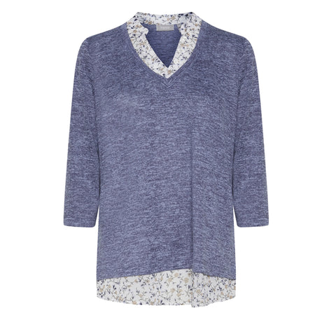 Fritrexan bluse · Maritim Blue