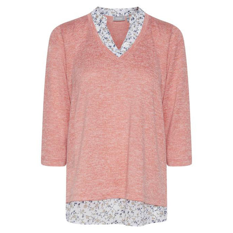 Fritrexan bluse · Shell pink