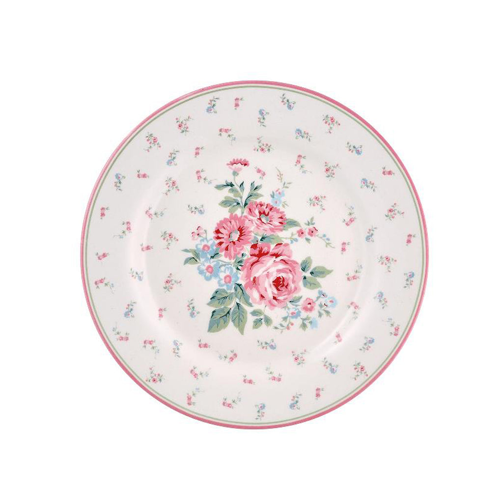Marly plate – white