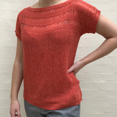 Noa bluse · Burnt Orange